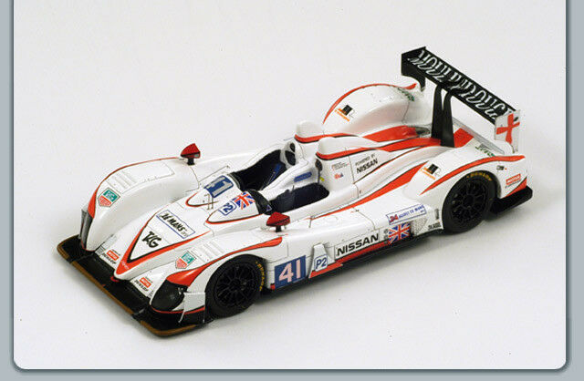 Zytek Nissan  41 8th Lm 2011 Winner Lmp2 Class 1 43 Model SPARK MODEL