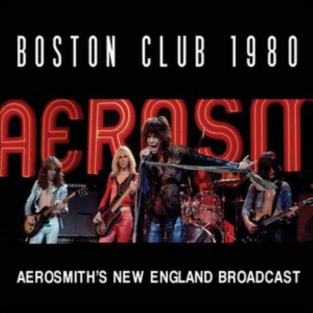 Aerosmith - Boston Club 1980 Neue CD