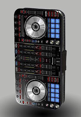 DJ Mixer Disco Jockey Rave House Music Club Artist Leather Phone Case Flip Cover