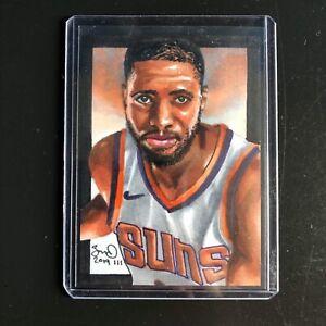 Mikal-Bridges-Phoenix-Suns-1-1-hand-drawn-original-art-sketch-card-aceo-Rc