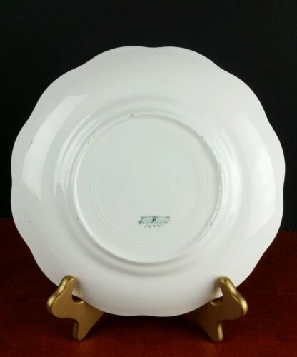 """Details about  /antique plate early 1900s Smith Phillips Semi Porcelain 9.5/"""" dinnerware Ohio"""