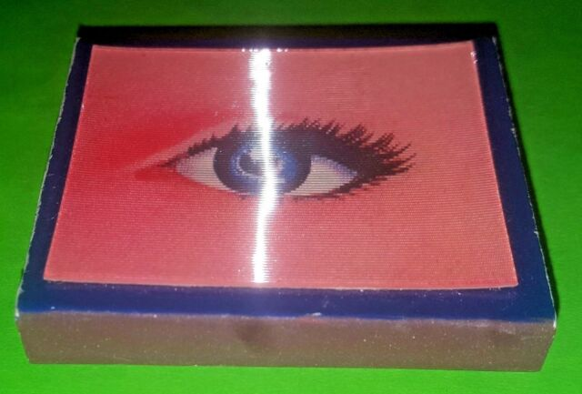 3-D Eye Vintage Matchbox Matchbook Made in Japan