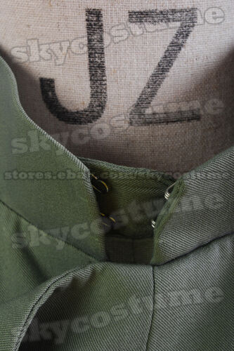 Star Wars Imperial Officer Naval//Senior Cosplay Costume Olive-Green Uniform Suit