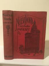 Nueva York En Todas Sus Fases 1913 Santiago Chile Travel Guide to New York City