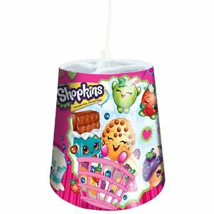 SHOPKINS-TAPERED-CEILING-LIGHT-SHADE-PINK-NEW-OFFICIAL-GIRLS-KIDS-BEDROOM