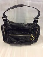 Chloe Black Patent Leather Handbag