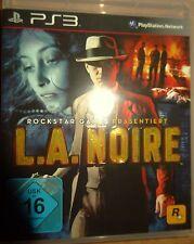 L.A. noire de Rockstar Games PlayStation 3 ps3 video-juego Bluray Disc