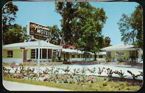DAYTONA-BEACH-FL-Florence-Motel-Vtg-Florida-Postcard