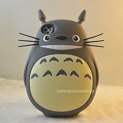 Lovely My Neighbor Totoro Rubber Silicone Case cover for iphone 7 6 6S plus 5s