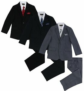 Formal-Kids-Toddler-Boys-Pinstripe-Suit-5-PC-Set-With-Vest-and-Tie-Size-2T-14