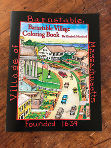 Barnstable Village Coloring Book by Elizabeth Mumford First edition