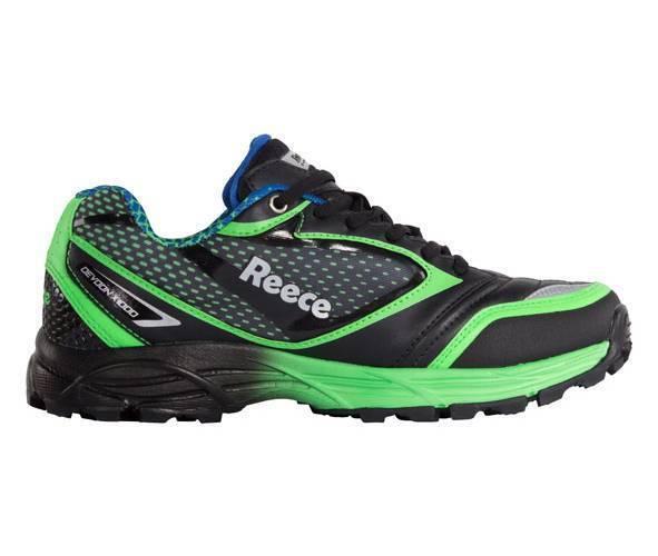 Reece Devoon Hockey Schuhe schwarz-grün Größe 46 NEU 63274