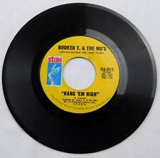 Booker T. & The MG'S - Northern Soul 45 RPM Stax - Hang 'Em High / Over Easy
