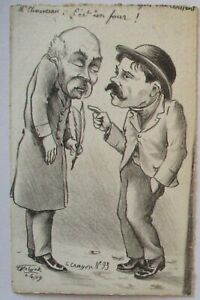 France-Politics-Caricature-Clemenceau-Sign-Molynk-63489