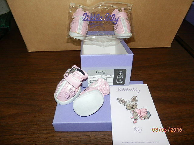 Dog Boots   Booties   shoes - Little Lily - Pink - Size 2 - BRAND NEW