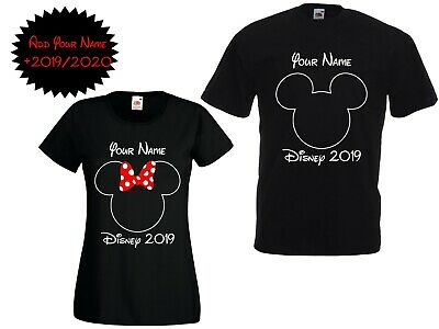 Personalised Minnie Mouse Disney World 2019//2020 Vacation T shirts Florida//Paris