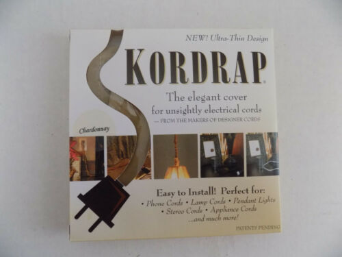Designer Cords Kordrap Decorative Electrical Cord Covers SHIPS SAME DAY