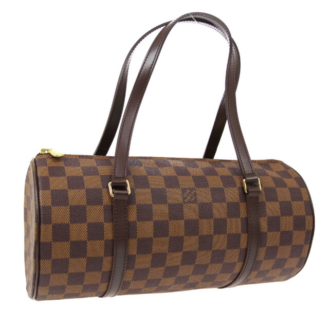 LOUIS VUITTON PAPILLON 30 HAND BAG PURSE DAMIER CANVAS N51303 DU1006 02268