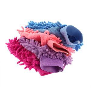 Microfaser-Mikrofaser-Handschuh-Waschhandschuh-Autowaschhandschuh-versch-FarbQF