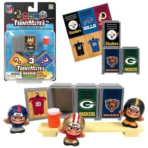 Nfl Teenymates Series 4 Locker Room Sets Of 3 Players With