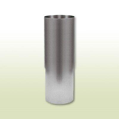 Verantwortlich Aluminium Fallrohr Mit Langmuffe Dn100 Länge 0,25 Meter Heimwerker Baustoffe & Holz