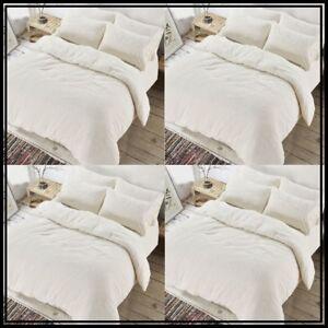 New Luxury Fleece Teddy Bear Duvet Quilt Cover Fur Sherpa Warm Cozy