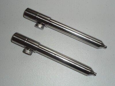 4 x diamètre 16 mm en Acier Inoxydable Mat//goal post 15-25 cm Carp grossiers