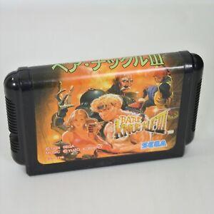 Mega Drive BARE KNUCKLE III 3 Cartridge Only Sega 2561 mdc