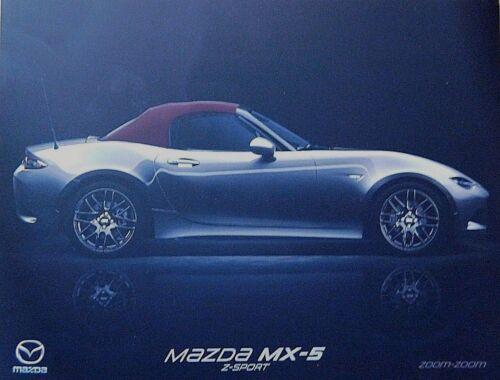 MAZDA MX-5 Z-sport brochure 2018