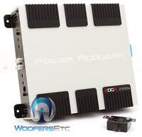 Power Acoustik Eg1-2500d Pro Monoblock 2,500w Subwoofers Bass Speakers Amplifier