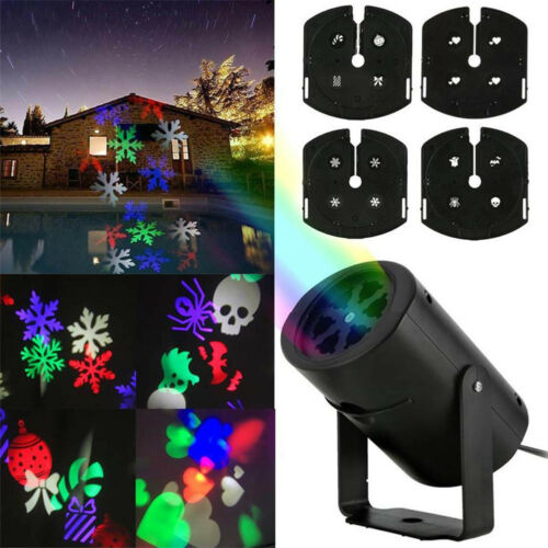 Moving LED Laser Projector Light Landscape Outdoor Party Xmas Halloween Lamp