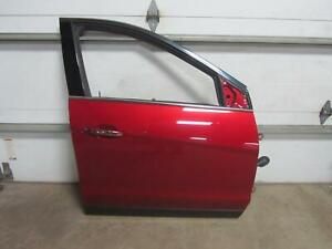10-15-CADILLAC-SRX-Right-Passenger-Front-Door-Cystal-Claret-Glass-Handle-OEM-Red