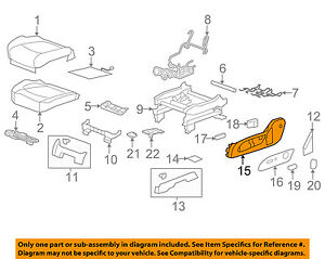 GM-OEM-Front-Seat-Outer-Finish-Panel-Left-25941790