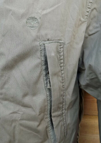 C2008 Stone Raincoat Timberland Lightweight Hooded M Parka Khaki Jacket xqZZC8456w