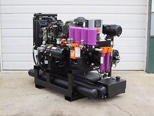 30 Kw 100 Cfm Spray Foam Rig Diesel Generator Compressor Air Dryer Combo Unit