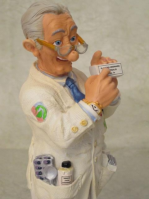 Profisti-farmacéutico pharmacien escultura figura 20613p