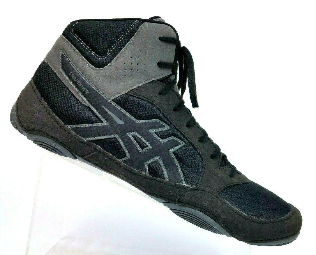 ASICS Snapdown Black Wrestling shoes J703Y Men's US 15