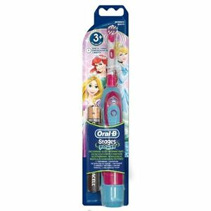 Braun-Oral-B-ADVANCE-POWER-KIDS-GIRL-Batteria-Spazzolino-da-denti-Principessa-Disney-Edizione
