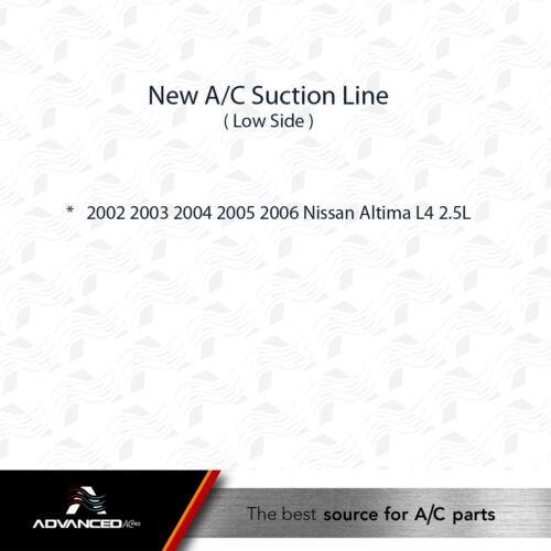 2002 2003 2004 2005 2006 Nissan Altima L4 2.5L ONLY AC A//C Suction Line Fits