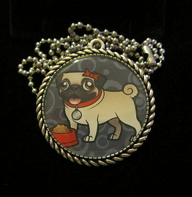 Engagement & Wedding Dog Pug Necklace-handmade Resin Jewelry Quality First