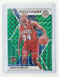 2019-20-Panini-Mosaic-Charles-Barkley-Hall-of-Fame-Green-Prizm