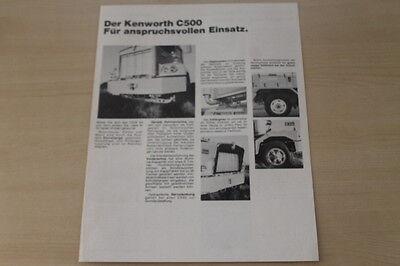 Elegante Form 179193 Kenworth Lkw C 500 Prospekt 197