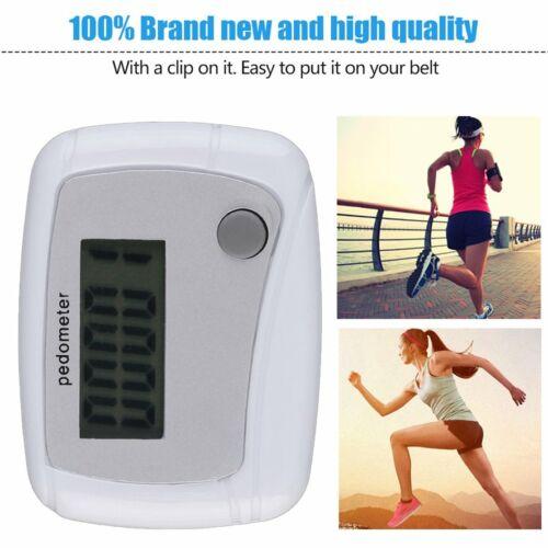 Portable Mini Digital LCD Running Step Pedometer Walking Distance Counter
