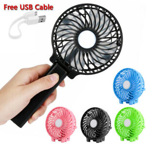 Foldable-Portable-Personal-Handheld-USB-Mini-Fan-Cooling-3-Speeds-with-Battery