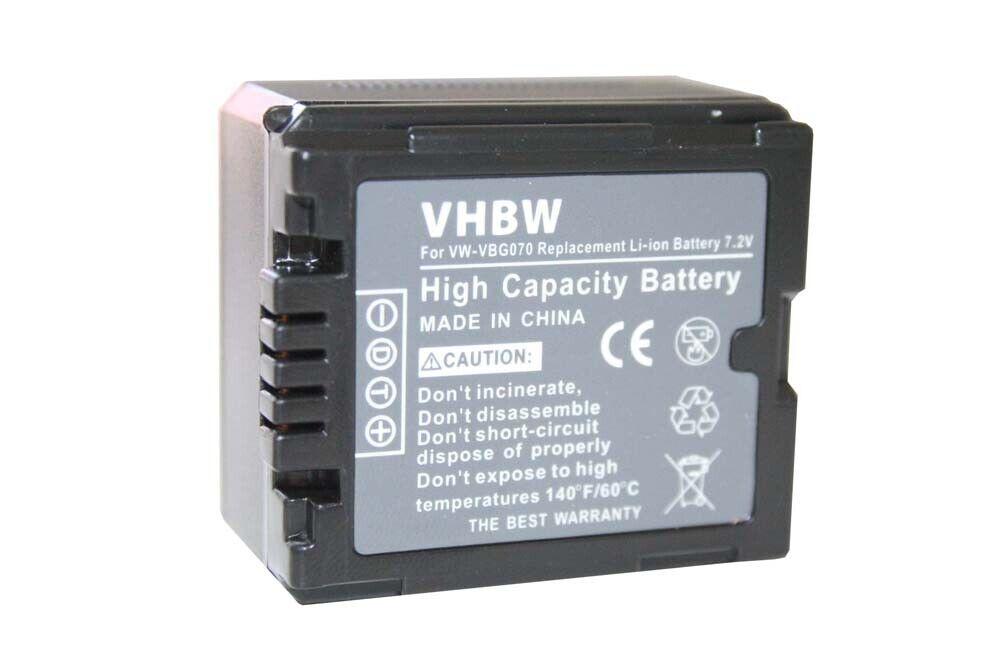 BATTERY + CHIP for PANASONIC VW-VBG130 VBG-130 ACCU