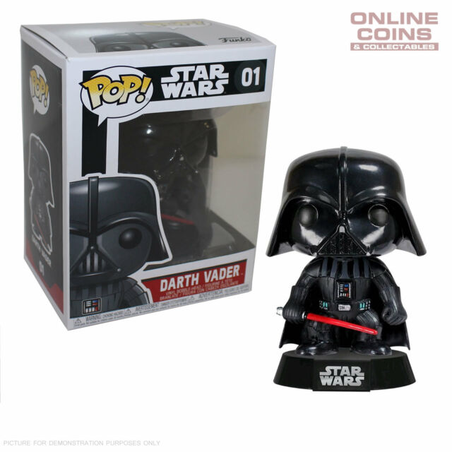 STAR WARS - DARTH VADER - FUNKO POP VINYL FIGURE - BLACK BOX!