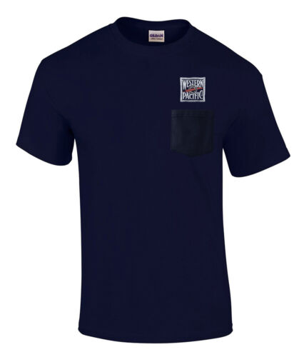 p24 Western Pacific Feather River Embroidered Pocket Tee