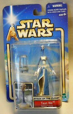 Star Wars Action Figur TAUN WE Attack of the Clones Hasbro 2002 OVP