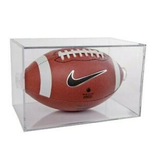 Football Clear Square 2 Piece Display Case (New) Calgary Alberta Preview