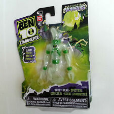 "BEN 10 GHOSTFREAK OMNIVERSE 4"" GLOW IN DARK GALACTIC MONSTERS ALIEN BANDAI 2014"